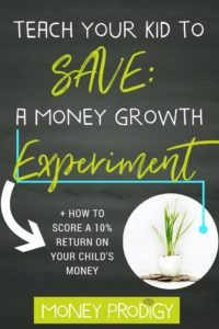Get kids to listen to you about money, mom, by having them discover what you're trying to teach them on their own using this idea. You'll teach children to WANT to put money into a savings account after they go through this EYE-OPENING, hands-on money growth experiment. Kids save money? What a novel idea. | https://www.moneyprodigy.com/money-growth-experiment-to-teach-children-to-save/