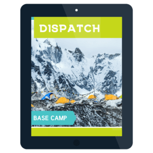 table screen showing dispatch on base camp