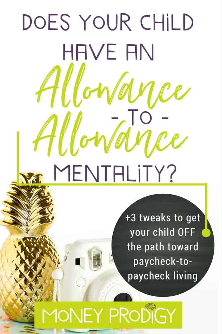 Does your kid have an allowance-to-allowance mentality? Saving money for kids doesn't have to be hard. Teach kids this vital life skills set BEFORE they head down the path of paycheck-to-paycheck living. | https://www.moneyprodigy.com/saving-money-for-kids/