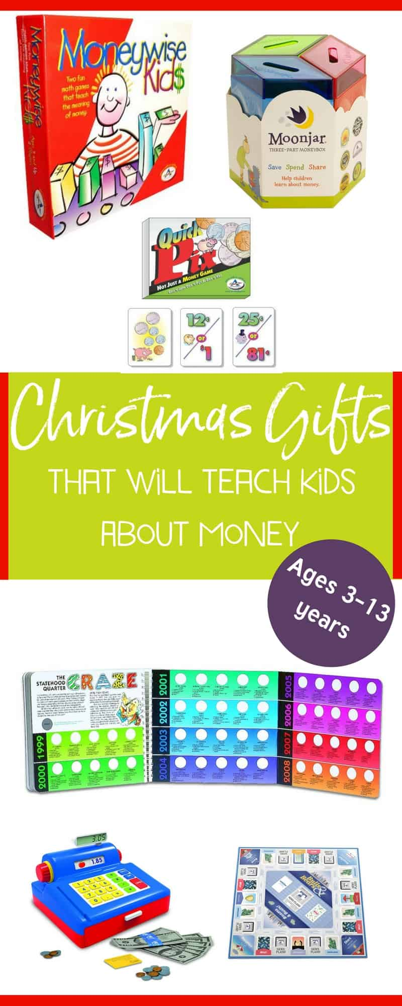 9 Money Educational Toys for Kids this Christmas - Money Prodigy