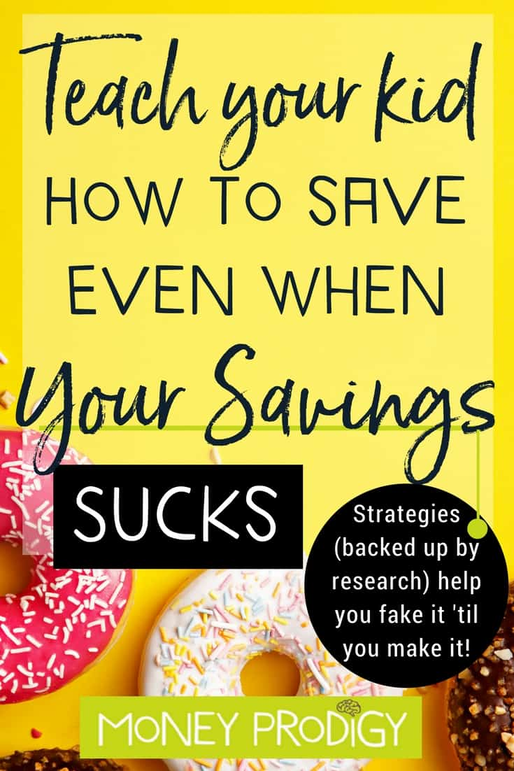I've been wondering how can I teach kids save money when my own savings account sucks? Teaching kids to save money is definitely doable based off of exactly where you are in your finances, right now. #kids #parenting #kidsandmoney #kidssavemoney #children #ideas #jars | https://www.moneyprodigy.com/teaching-kids-to-save-money-when-your-savings-sucks/