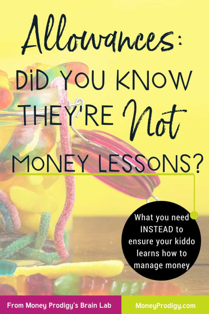 What are allowances anyways? Are you using your kid's allowance as a money lesson? This may not be such a good idea Mama Bears and I'll tell you why. #kid #allowancechart #kidallowanceideas #kidallowance #kidallowancesystem #chorecards https://www.moneyprodigy.com/what-are-allowances-theyre-not-a-money-lesson/