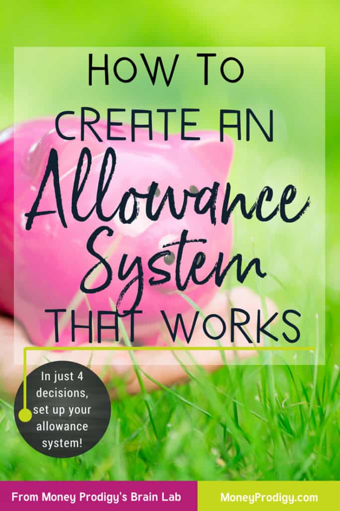 Have you decided to give your kids an allowance but aren't sure how much allowance to give? I'll help walk you through a few and figure out one that will work for you. #kidallowancechart #kidallowanceideas #kidallowance #kidallowancesystem #chorecards https://www.moneyprodigy.com/how-to-create-an-allowance-system-that-actually-works/