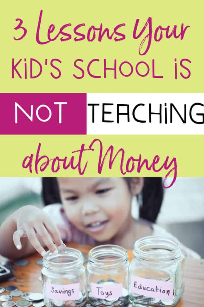 Do you know if your kiddo is learning these critical money management skills in school? The answer is probably not. Don't fear Mama Bears, I've got you covered with money lessons and freebies, all to save the day! #moneyteaching #moneymanagementforkids #parenting #momgoals #parenthood #kids #parentingtips | https://www.moneyprodigy.com/money-management-skills/