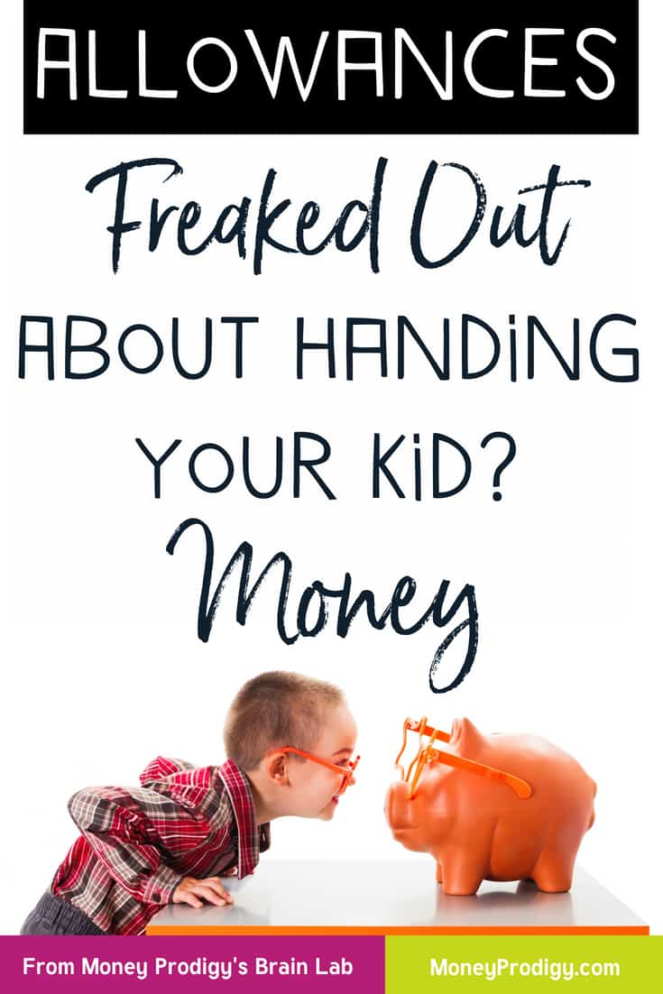 Handling money for kids may sound scary but it doesn't have to be! I'll show you how to confidently teach your kids how to manage their money and put your mind at ease Mama Bear. #teachkidsaboutmoney #kidsmoney #moneyteaching #parenting #momgoals #parenthood #kids #parentingtips | https://www.moneyprodigy.com/money-for-kids/