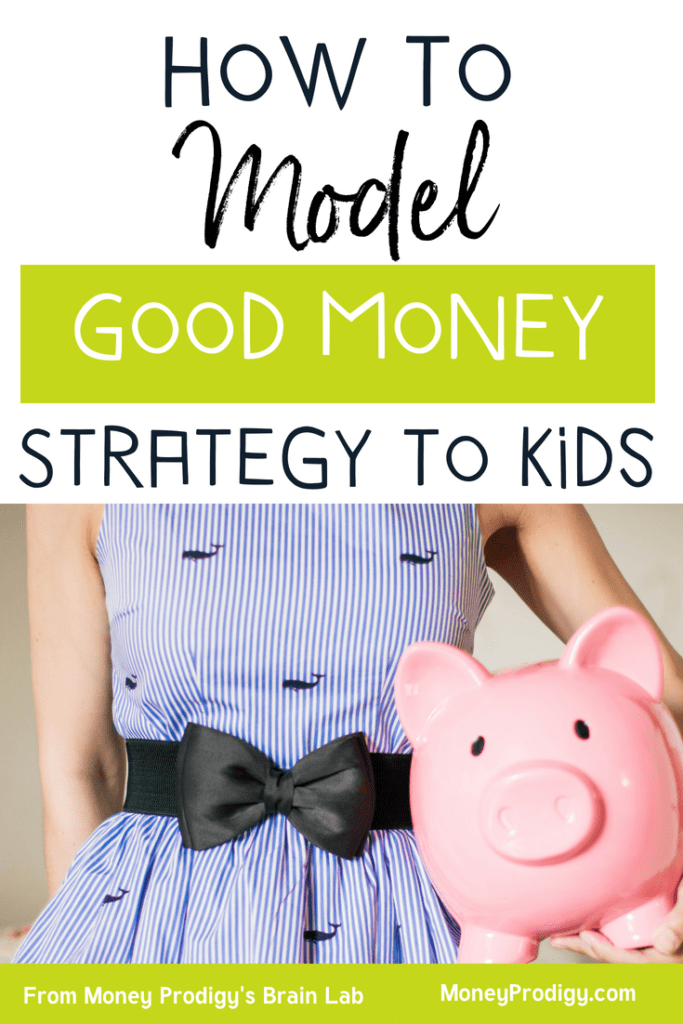 I feel like it's hard teaching children about money sometimes. I'm not entirely sure what to do and don't want to mess up. But I found this cool pin about modeling money strategy for my kids...I'm gonna give it a try! | teaching children about money | money teaching activities | teaching kids money | parenting | kids and money | #teachingchildrenaboutmoney #moneyteachingactivities #teachingkidsmoney #kids #parenting #money #kidsandmoney | https://www.moneyprodigy.com/teaching-children-about-money/