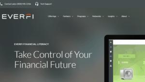 screenshot of EverFI Financial Literacy