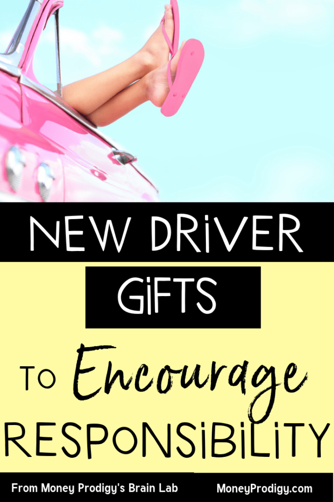 I love how these gifts for new drivers encourage responsibility + safety. These are teen car essentials that I can give that will teach teen life skills. | what to keep in your car | teen things to keep in your car for teens | car basket gift for teens | bling car accessories | driving permit | car care kit | independent living skills for teens | life tips for teens | #drivers #teen #lifeskills | https://www.moneyprodigy.com/gifts-for-new-drivers/