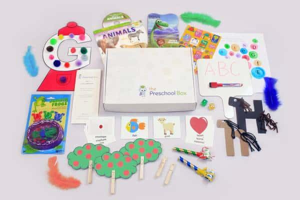 The Preschool Box - Kid subscription box reviews