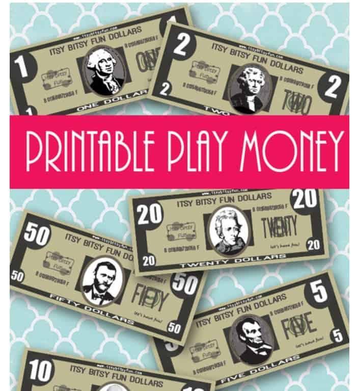 screenshot of itsy bitsy fun dollars printable