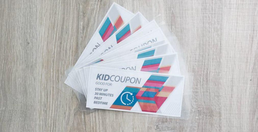 screenshot of kid coupon - free behavior coupons