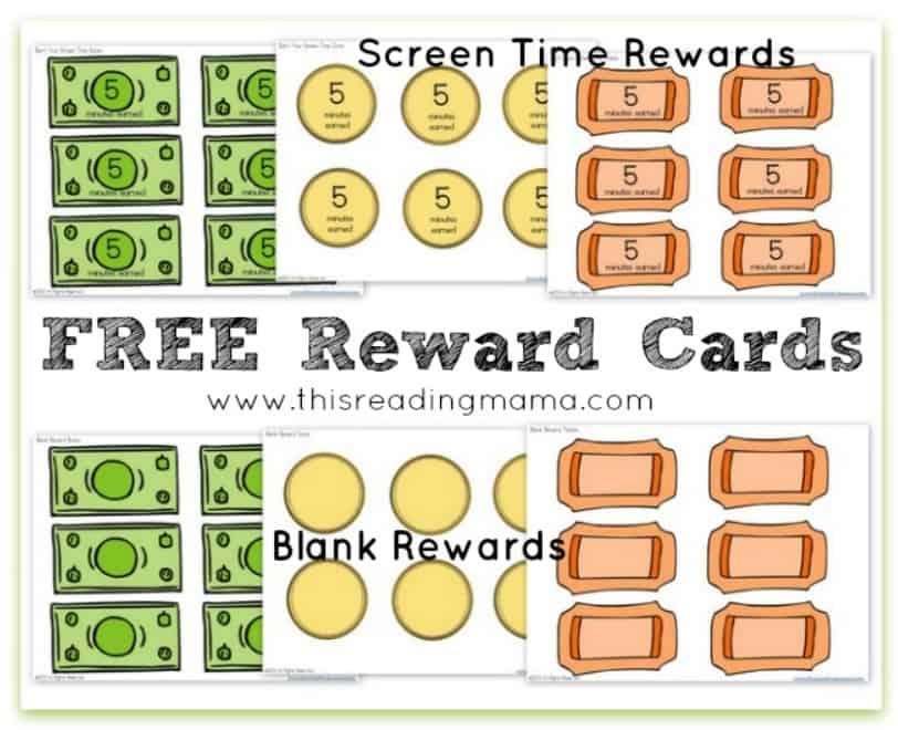 screenshot of screen time tokens - how to earn mom bucks